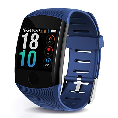 LEKOO Fitness Tracker  Activity Tracker with Step Counter  Waterproof SmartWatch with Heart Rate Monitor  Fit Watch Sleep Monitor Step Counter for Android & iPhone