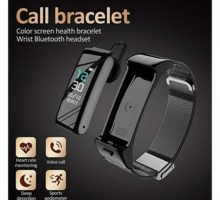2in1 Smart Bracelet with Bluetooth Earphone