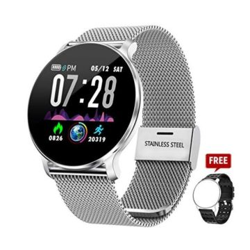 TagoBee Fitness Tracker TB11 Smart Watch IP68 Waterproof Activity Tracker with Heart Rate Monitor Blood Pressure Monitor Pedometer Calorie Counter Sports Fitness Watches for Men Women