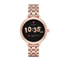 Kate Spade New York Scallop Touchscreen Smartwatch Rose Goldtone Stainless Steel Bracelet 42mm KST2005