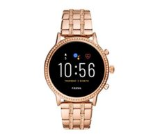 Fossil Gen 5 Julianna HR Heart Rate Stainless Steel Touchscreen Smartwatch Color Rose Gold