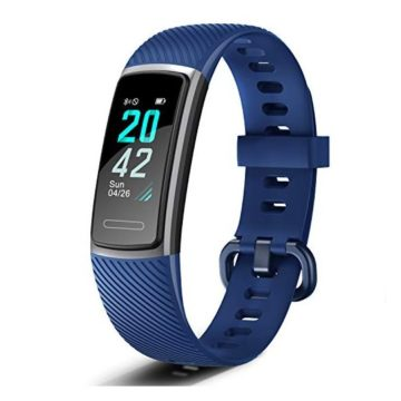 Letsfit Fitness Tracker Activity Tracker with Heart Rate Monitor Pedometer Watch with Sleep Monitor Step Calorie Counter Smart Bracelet for Women and Men