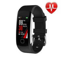 L8star Fitness Tracker Continuous Heart Rate Monitor IP67 Waterproof Smart Activity Tracker with 6 Sports ModeSleep MonitorPedometer Smart Wrist Band for Women Men